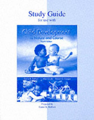 Child Development: Its Nature and Course, Study Guide (Dehart Child Development compare prices)