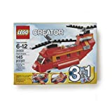 LEGO 3-in-1 Red Rotors Helicopter