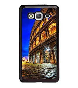 Fuson Premium 2D Back Case Cover Mahal With Multi Background Degined For Samsung Galaxy Grand Prime G530h