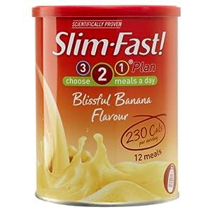 SlimFast Powder Blissful Banana - 438 g