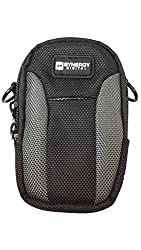 Sony Cyber-shot DSC-RX100 Digital Camera Case Medium to Large Point and Shoot Digital Camera Case, Black / Grey - Replacement by Synergy