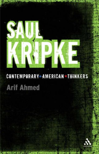 Saul Kripke Summary | BookRags.