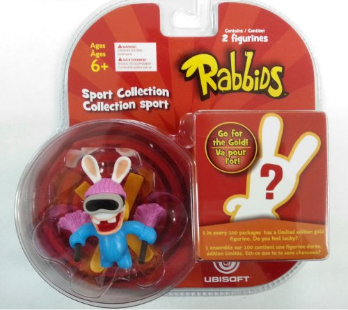 Rabbids in Sports - Skiing Figure / Plus One Mystery Figure