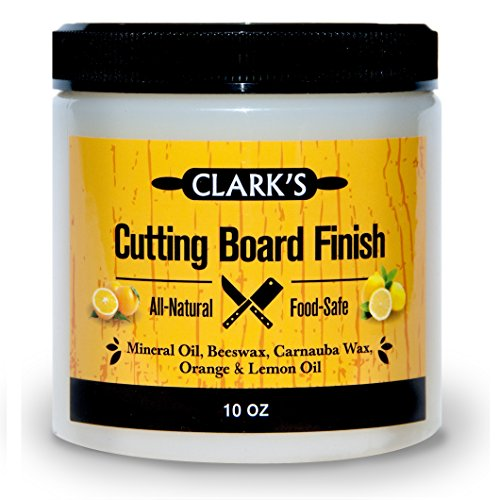 CLARK'S Cutting Board Finish (Butcher Block Conditioner, Wood Polish)