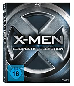 X-Men - Complete Collection (alle 5 Filme inkl. X-Men: Erste Entscheidung) [Blu-ray]