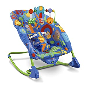 Fisher-Price Infant to Toddler Rocker Baby Chair Comfort Bouncer ...