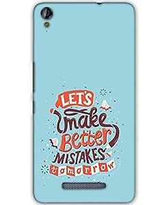 Micromax Canvas Juice 3 Plus Q394 Back Cover Designer Hard Case Printed Cover