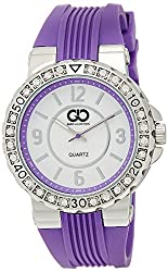 Gio Collection Digital White Dial Womens Watch - GLED-2031D
