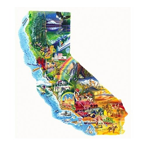 Sunsout Sun & Fun California 1000 Piece Jigsaw Puzzle Picture