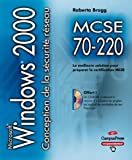 MCSE 70-220 conception de la s�curit� pour un r�seau Microsoft Windows 2000 CD-ROM