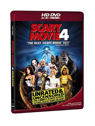 Cover art for  Scary Movie 4 (Unrated & Uncensored Version) [HD DVD]