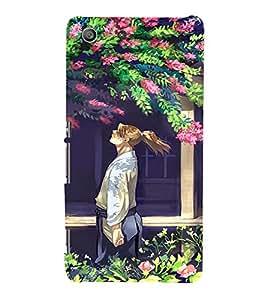 EPICCASE Garden Mobile Back Case Cover For Sony Xperia M5 (Designer Case)