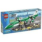 Lego - 7734 - City - Jeux de construction - L'avion Cargo