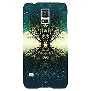 Back cover for Samsung Galaxy S5 Tree of Souls