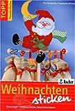 Weihnachten sticken: Kreuzstich - weihnachtliche Dekorationsideen