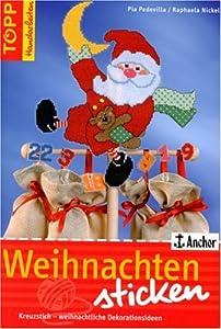 Weihnachten sticken kreuzstich weihnachtliche - Weihnachtliche dekorationsideen ...