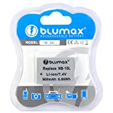 Blumax ® Canon NB-10L Battery for PowerShot SX40 HS, PowerShot G1 X