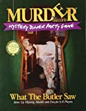 Murder a la Carte, What The Butler Saw