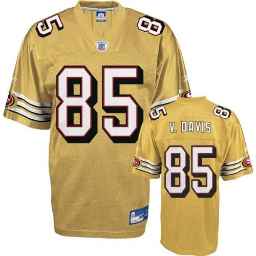 Replica #85 San Francisco 49ers Jersey : Athletic Jerseys : Clothing