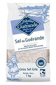 【フランス ブルターニュ産の絶品 海塩】ゲランド 粗塩 1kg(セル・マラン・ド・ゲランド・グロ・グリ)