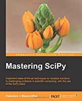 Mastering SciPy Front Cover