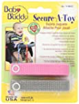 Baby Buddy Secure-A-Toy, Pink/Gray, 2...