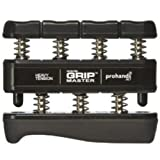 Gripmaster Hand Exerciser Black, Heavy Tension (9-Pounds per Finger)