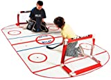 Mylec Mini Shini Rink Mat (White, 5x10-Feet)
