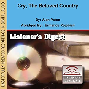Cry, the Beloved Country Audiobook