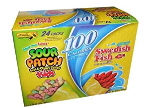 Sour patch kids and swedish fish twenty four for Swedish fish amazon