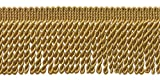 10 Yard Value Pack of GOLD 2.5 Inch Bullion Fringe Trim, Style# EF25 Color: C4 (31 Ft / 9.5Meters)