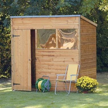 7 x 5 Tongue and Groove Pent Shed