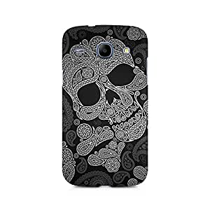 Mobicture Paisley Skull Premium Printed Case For Samsung Grand Duos 9082