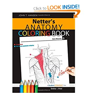 Netter's Anatomy Coloring Book PDF by John T. Hansen