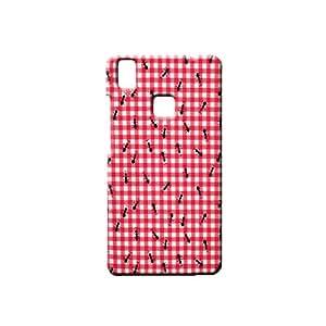 BLUEDIO Designer Printed Back case cover for VIVO V3 - G4131