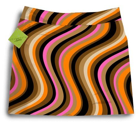 Loudmouth Golf Ladies Skorts: Mojodelic - Size 2 by Loudmouth Golf
