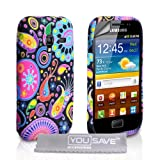 Samsung Galaxy Ace Plus Case Silicone Jellyfish Cover With Screen Protectorby Yousave Accessories