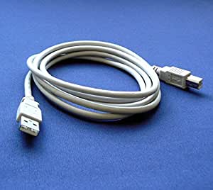 HP OfficeJet 100 Mobile Printer Compatible USB 2.0 Cable Cord for PC, Notebook, Macbook - 6 feet White - Bargains Depot®