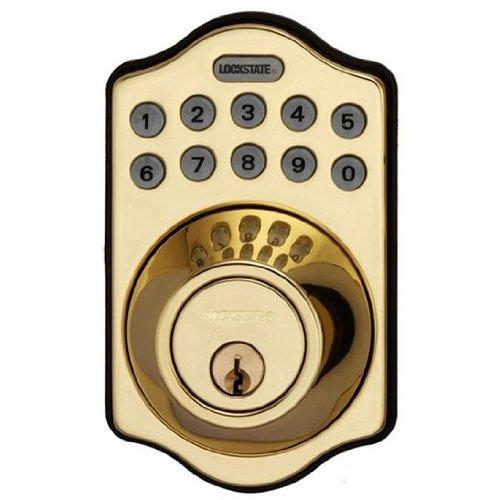 Lockstate Db500R Keyless Deadbolt W/Remote