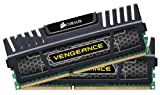 Corsair CMZ8GX3M2A1600C8 Vengeance 8GB (2x4GB) DDR3 1600 Mhz CL8 XMP Performance Desktop Memory Kit Black