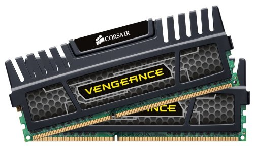 Corsair CMZ16GX3M2A1866C10 Vengeance 16GB (2x8GB) DDR3 1866 Mhz CL10 XMP Performance Desktop Memory Kit Black Black Friday & Cyber Monday 2014