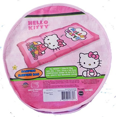 Hello-Kitty-Camping-Sleeping-Bag