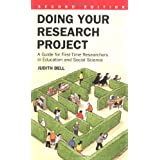 Doing Your Research Project: A Guide for First-time Researchers in Education and Social Science (2nd Edition)by Judith Bell