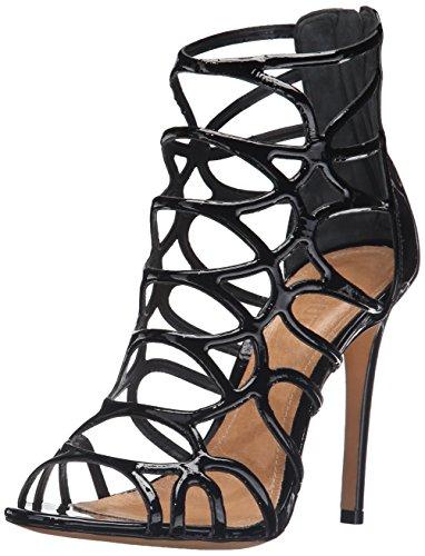 Schutz Women's Joanna Gladiator Sandal, Black, 9.5 M US (Schutz Shoes compare prices)