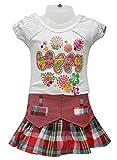 Girl's Top and Skirt set