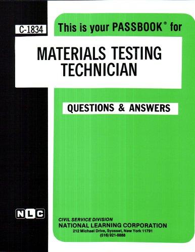 Materials Testing Technician