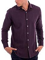 BLUE COAST YACHTING Camisa Hombre (Berenjena)