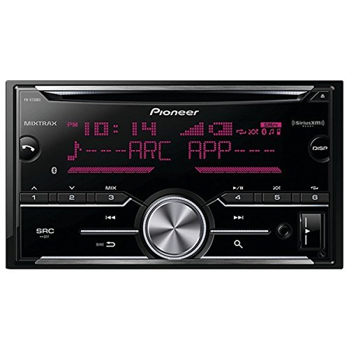 Pioneer FH-X730BS Vehicle Cd Digital Music Player Receivers, Black (Pioneer Double Din App Car Stereo compare prices)