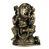 Ganesh Statue Religious Gift Handmade Home Decor from India 10.16 x 5.08 x 15.88 Cmsby ShalinCraft