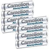ニッケル水素充電池 単4形 Camelion NH-AAA900ARBC4 (単4/4本入×2 8本セット)(M)